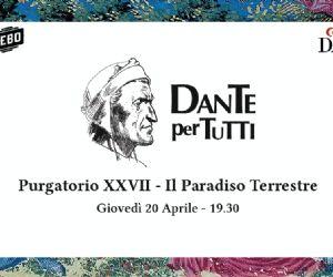 Purgatorio XXVII - Il Paradiso Terrestre
