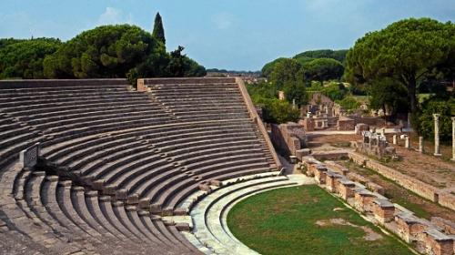 Il mito e il sogno teatro romano ostia antica rassegne a for Programma arredamenti ostia