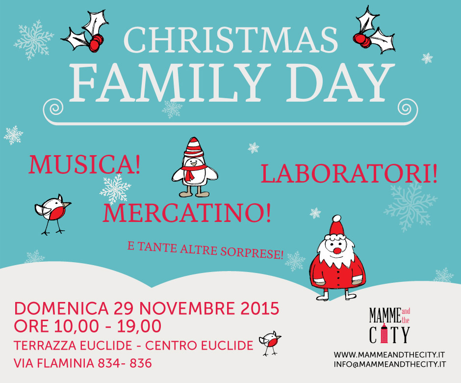Mappa Evento Christmas Family Day Terrazza Euclide
