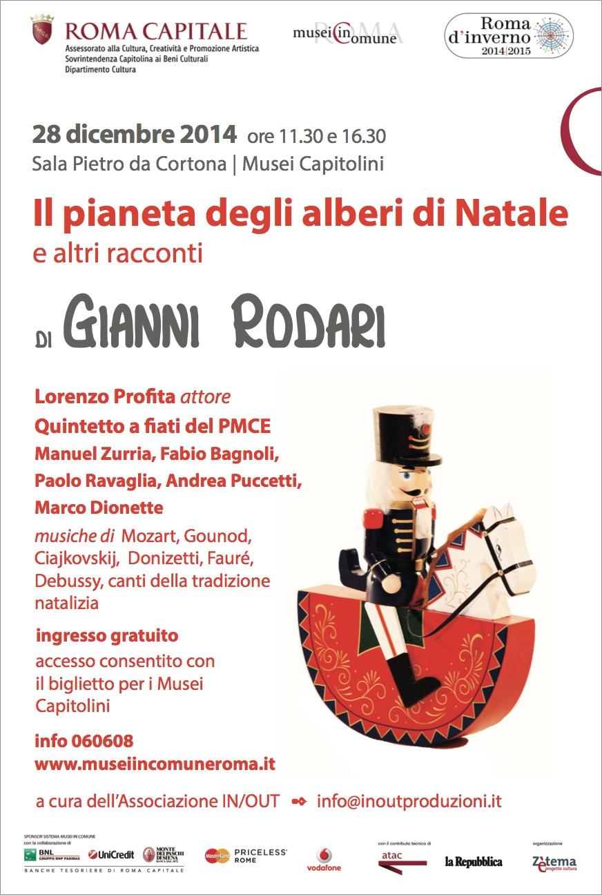 Poesia Natale Rodari.Il Pianeta Degli Alberi Di Natale Di Gianni Rodari Concerti A Roma