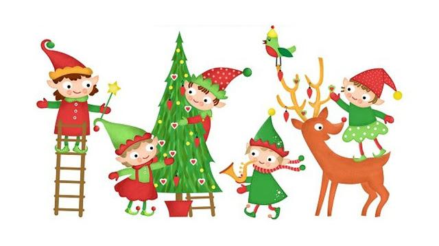 Bambini Babbo Natale Disegno.La Leggenda Del Natale Narrata Da Un Elfa Di Babbo Natale Bambini E Famiglie A Roma