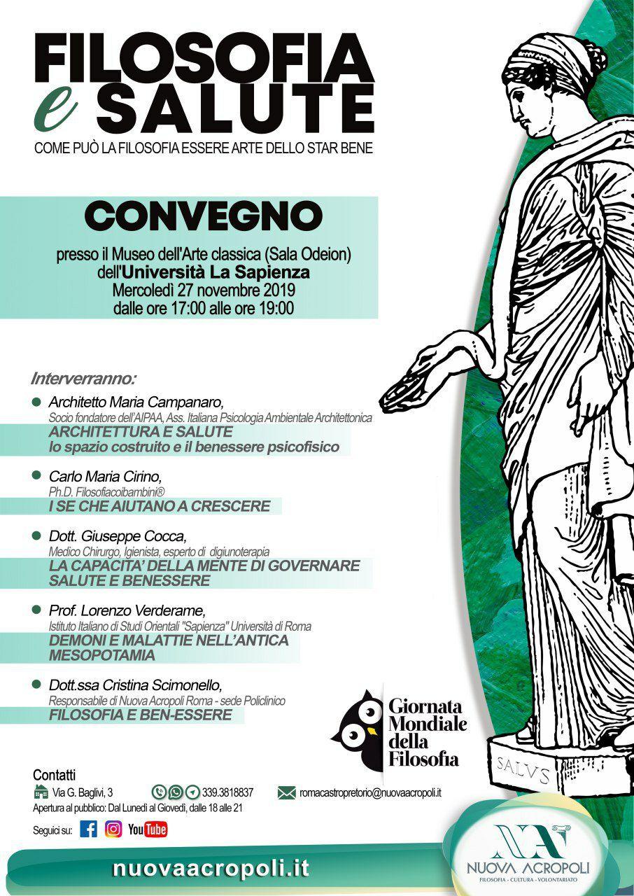 Filosofia E Benessere Festival A Roma