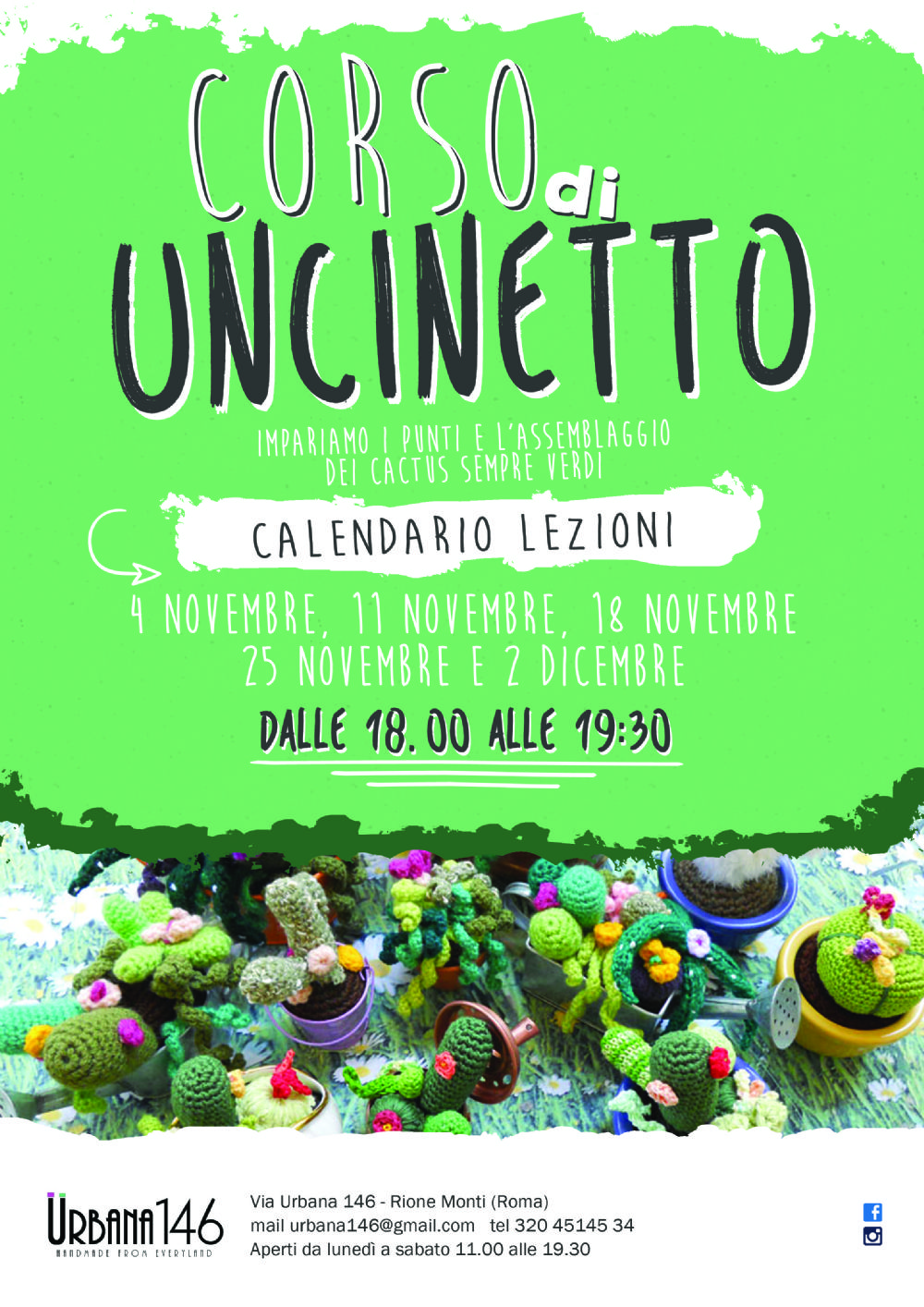 Corso Di Uncinetto Urbana146 Corsi E Seminari A Roma Evento