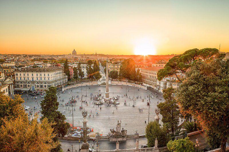Pincio: storia, leggende e panorami su Roma, Terrazza del Pincio ...