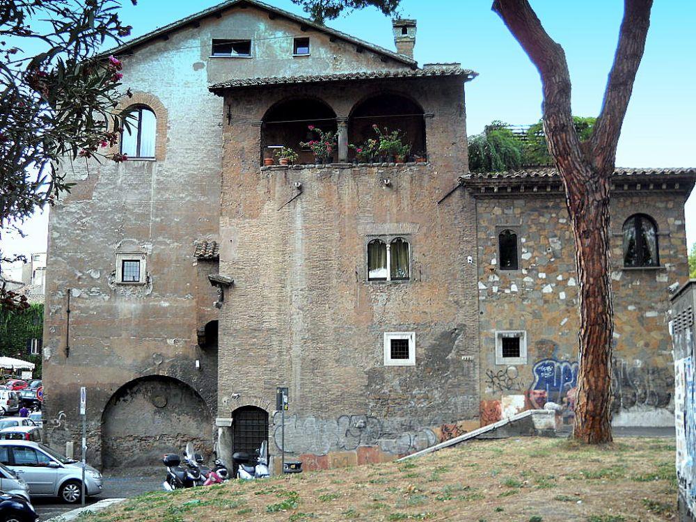 Trastevere medievale case torri e dimore signorili in for Immagini case