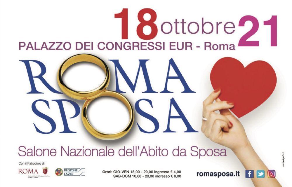 Salone Nazionale dell Abito da Sposa. RomaSposa ... c64f696beec