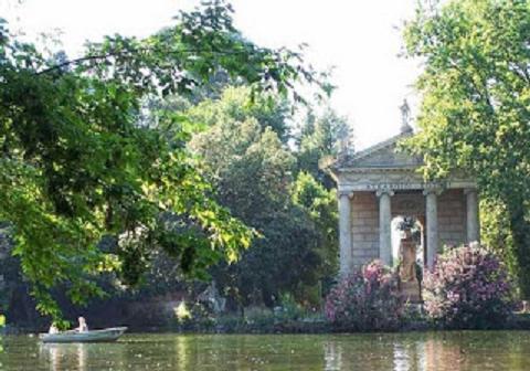 Il giardino del lago ed il pincio romantici giardini romani